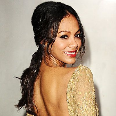 זואי Saldana - Transformation - Hair - Celebrity Before and After
