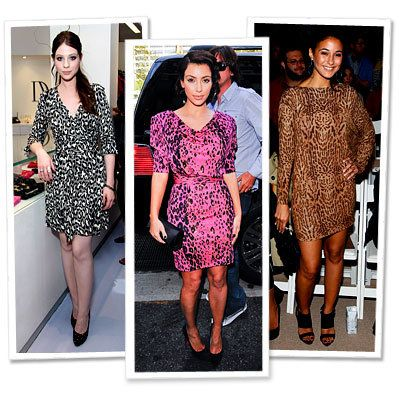 ミシェル Trachtenberg - Kim Kardashian - Emmanuelle Chriqui - Star Trends - New York Fashion Week - Spring 2010
