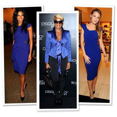 Ciara - Mary J. Blige - Blake Lively - Victoria Beckham Collection - Cobalt - Star Trends - New York Fashion Week - Spring 2010