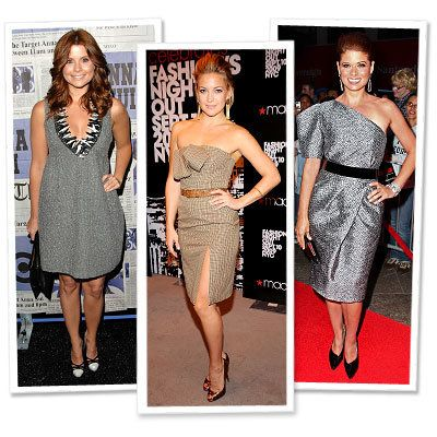 ジョアンナ Garcia - Kate Hudson - Debra Messing - Anna Sui for Target - Michael Kors - Star Trends - New York Fashion Week - Spring 2010