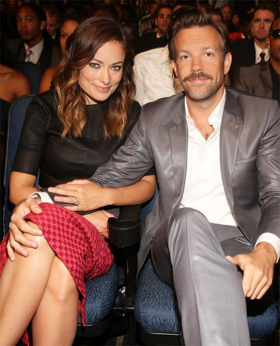 제이슨 Sudeikis and Olivia Wilde