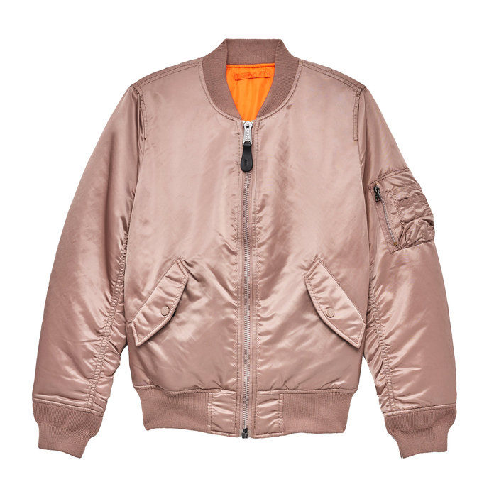 アルファ INDUSTRIES REVERSIBLE BOMBER JACKET