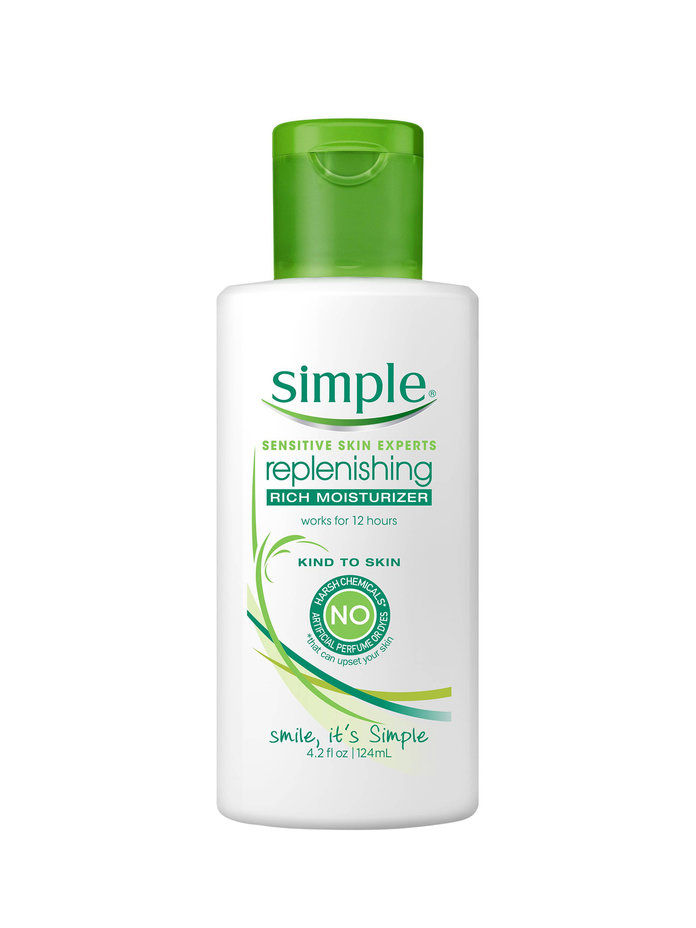 シンプル Replenishing Rich Facial Moisturizer