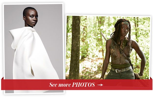 다나이 Gurira - The Walking Dead - InStyle October