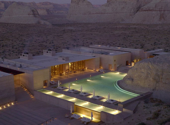 最も Epic Pools In The World 5 Amangiri (Canyon Point, Utah)
