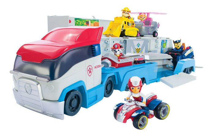 Paw Patrol's Paw Patroller Rescue Vehicles