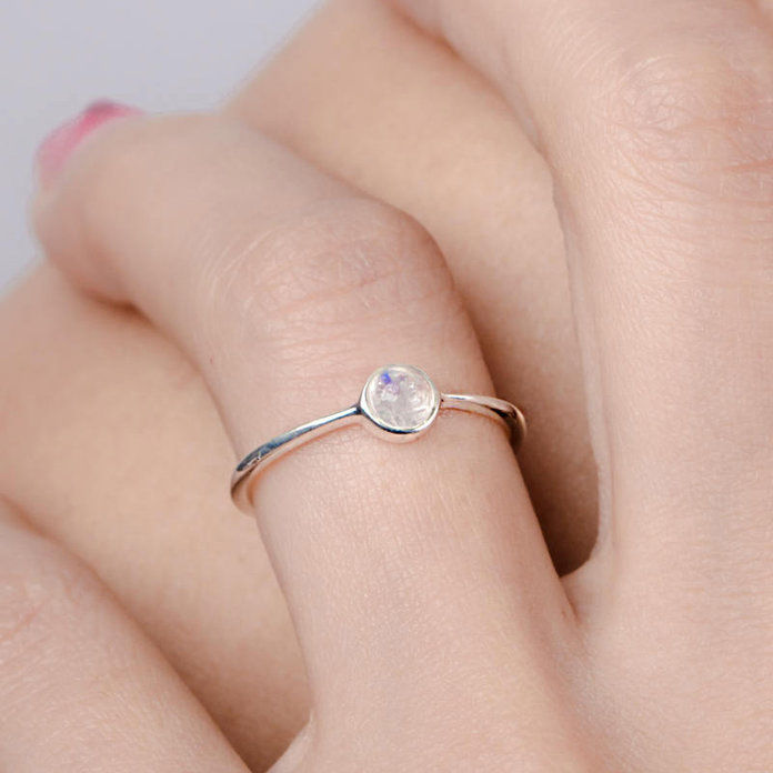 lunaijelryelry - Moonstone Ring