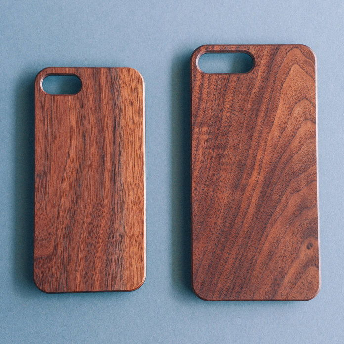 מנדליון - Wood iPhone Case