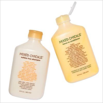 混合 Chicks Sulfate Free Shampoo And Leave-in Conditioner
