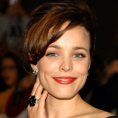 אדום lipstick, make up, Lancome Rouge Sensation Lipstick in Ambrette, Rachel McAdams, daily beauty flash