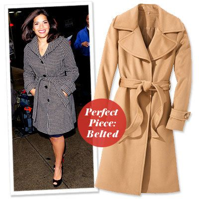 アメリカ Ferrera - Find Your Most Flattering Coat - Curvy