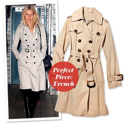グウィネス Paltrow - Find Your Most Flattering Coat - Small Bust