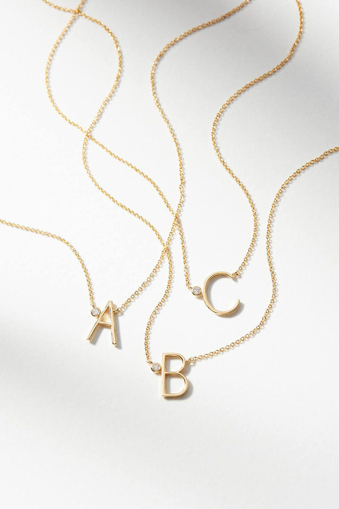 עדין Monogram Necklace