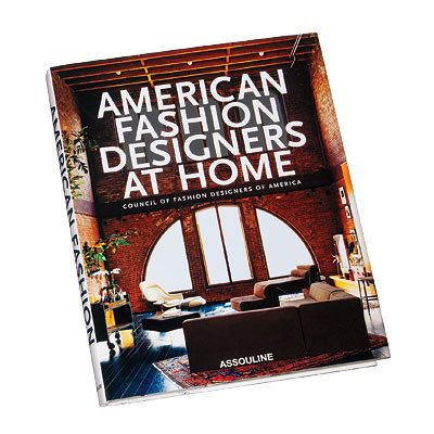 アメリカ人 Fashion Designers at Home - Book - ideas for go to gifts - holiday shopping