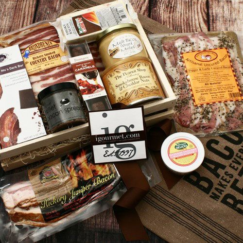 iGourmet For The Bacon Lover Gourmet Gift Crate
