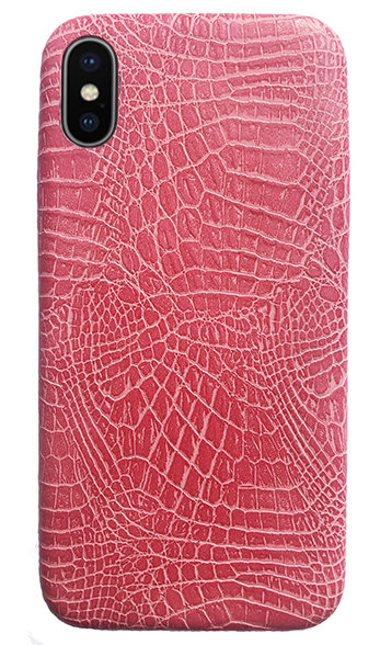 ה Faux Crocodile Skin Case from L&J Global
