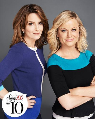 ティナ Fey and Amy Poehler Host the Globes - Style 100