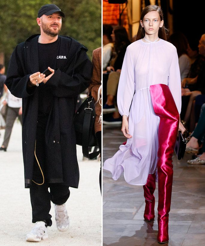 דמנה Gvasalia, Balenciaga and Vetements