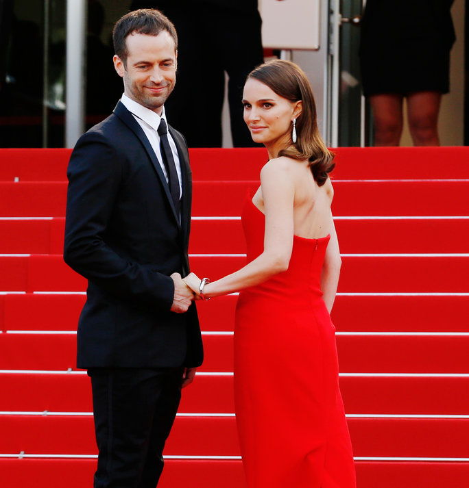 Natalie Portman and Benjamin Millepied - May 13, 2015