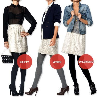 ブロケード Skirt - 4 Must-Have Holiday Pieces
