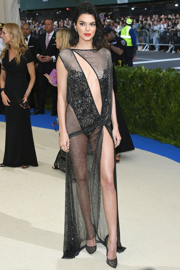 קנדל Jenner's Met Gala Dress