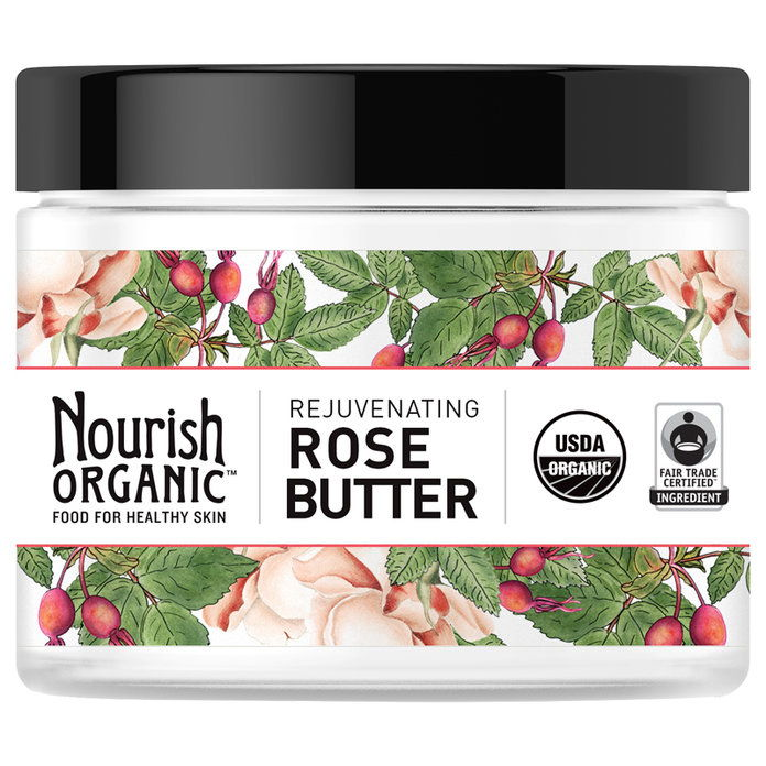 Au Natural: Nourish Organic Rejuvenating Rose Butter