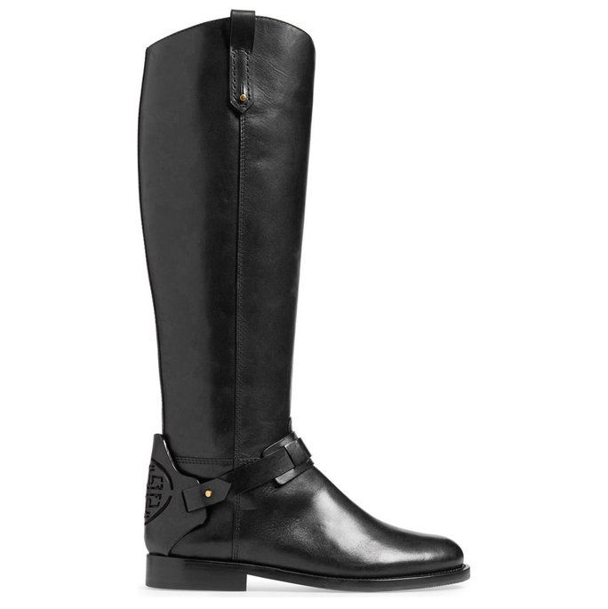 דרבי Leather Riding Boot