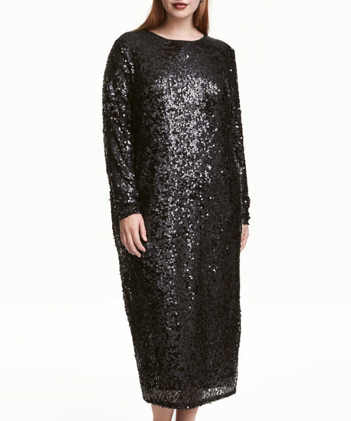H & M + s Sequined Dress