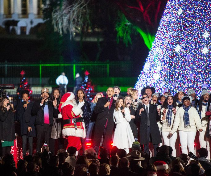 אובמה Tree Lighting 2016 - Embed - 3