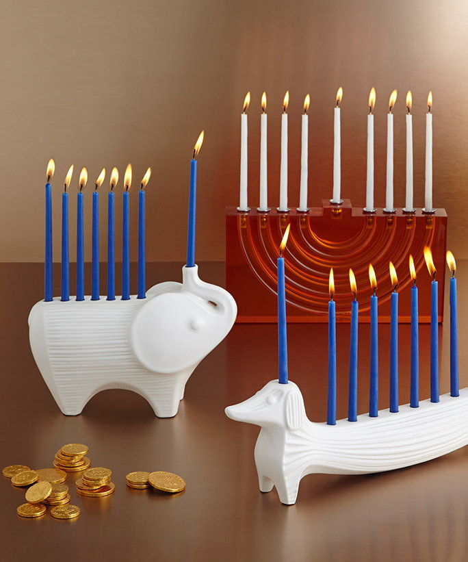 מעצב Menorahs - Lead