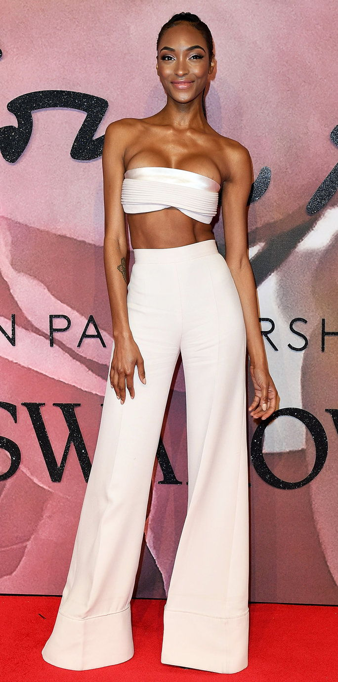 イギリス人 Fashion Awards 2016 - Jourdan Dunn