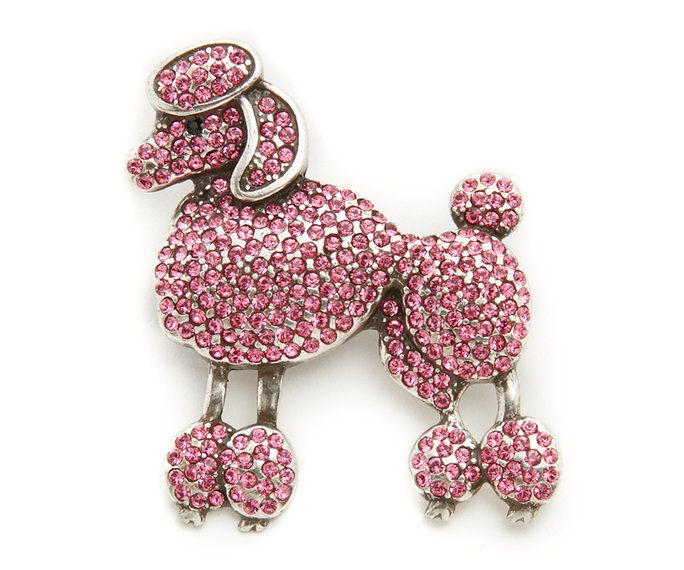 マーク Jacobs Small Poodle Brooch