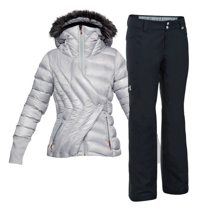 아래에 Armour Lindsey Vonn Collection Jacket and Pants