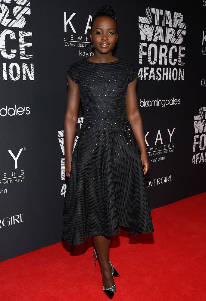 루피타 Nyong'o in Zac Posen x Google on Dec. 2, 2015