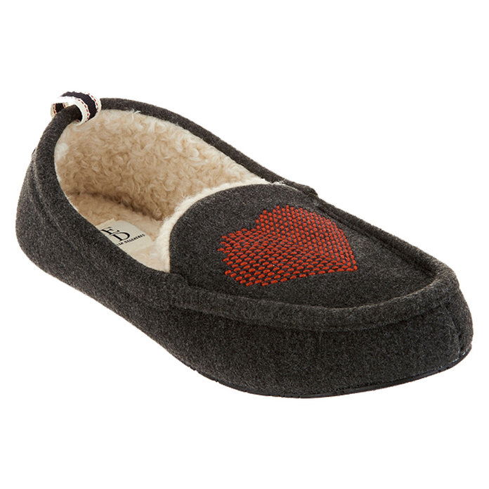 ED by Ellen DeGeneres Heart Slippers