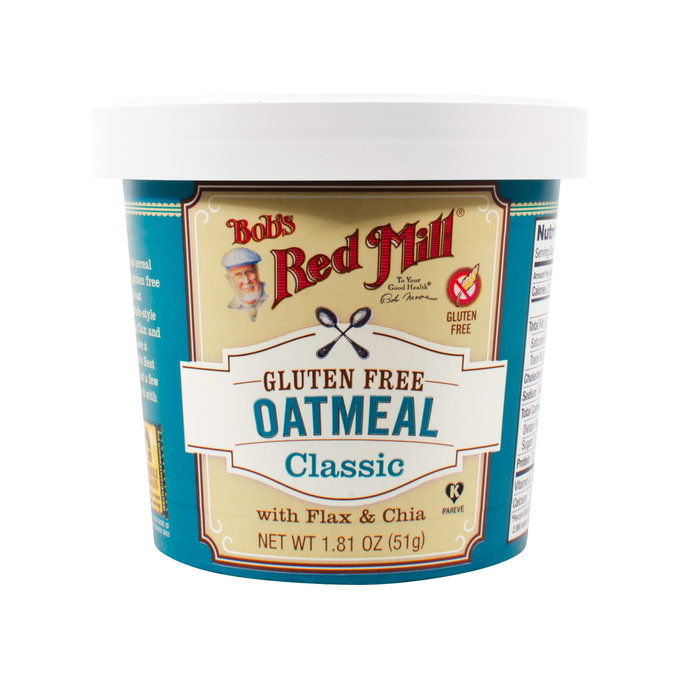 ボブズ Red Mill Gluten Free Oatmeal Cup