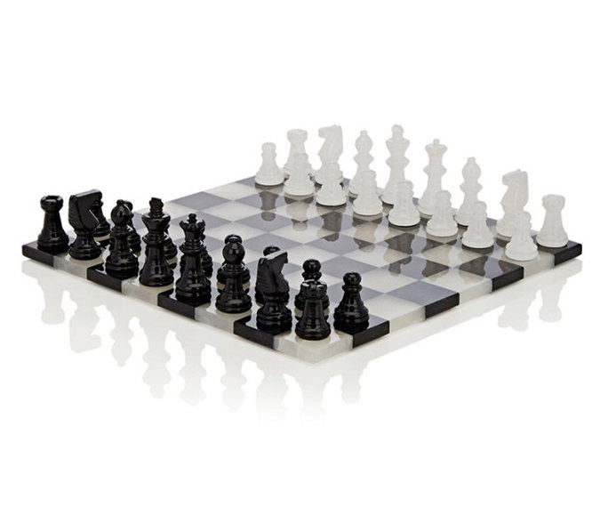 סקאלי Salvatore SRL Alabaster Chess Set
