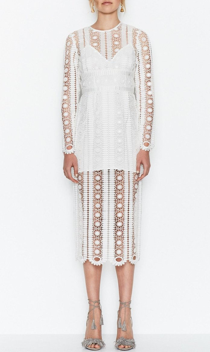 כמו A Dream Lace Midi Dress