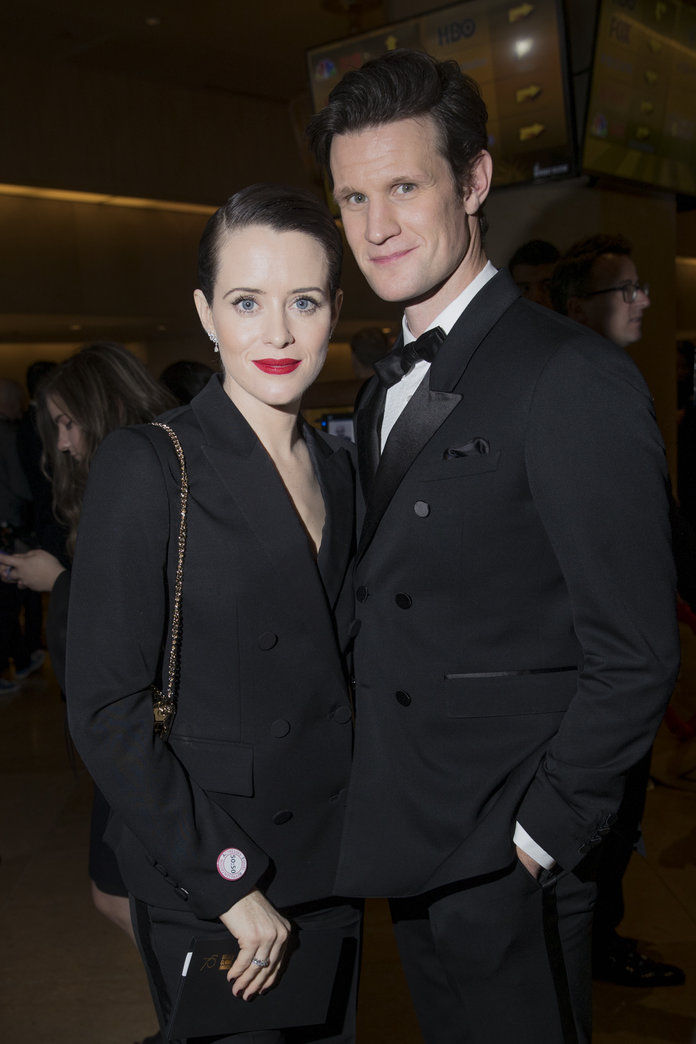 クレア Foy and Matt Smith
