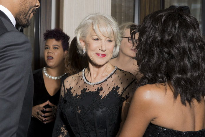 ヘレン Mirren and Kerry Washington