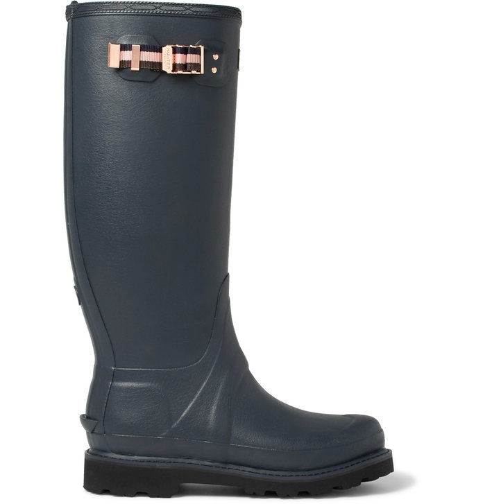 קינגסמן + Hunter Balmoral Rubber Wellington Boots
