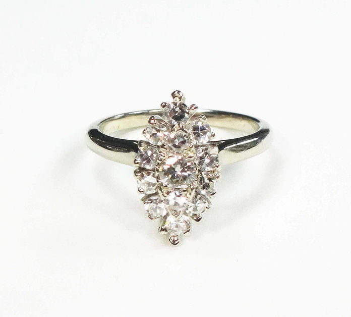 בלמאר Jewelers Vintage Marquise Ring