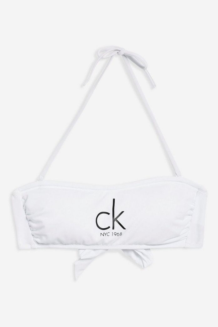 ネクタイ Back Bandeau Top by Calvin Klein